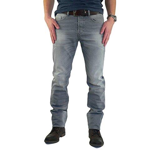 Diesel - Jeans - Attillata - Uomo, Grau, 36 W/30 L