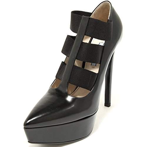 2519G decollete nero PRADA VITELLO SPAZZOLATO scarpa donna shoes women [40]