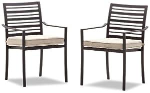Strathwood Rhodes Dining Arm Chair, Set of 2 from Li & Fung, Longda (LIFY7), FOB Ningbo, China (CNNGB)