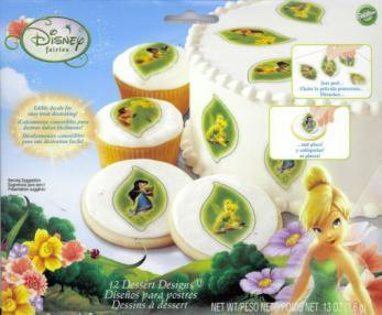 Disney Fairies Dessert Designs - 1
