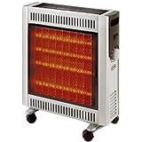 Supra infra2410 radiateur radiant 2400 w halog ne infra quartz for Radiateur electrique radiant