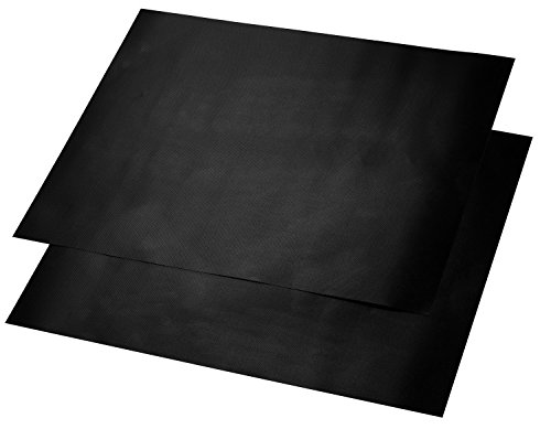 BeSafe BBQ Grill Mat - Set of 2 Heavy Duty Grilling Sheets - Heat Resistant, Non-Stick, Reusable and Dishwasher Safe - PFOA Free - 16 x 13 inch (Amazon Crock Pot Wifi compare prices)