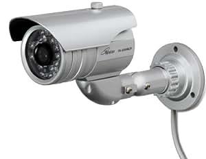 コロナ電業 赤外線内蔵デイ&ナイトカラーCCDカメラ 【48万画素】 屋外用 TR-858WCP