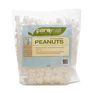 Duck CareMail Biodegradable Peanuts, 0.34 Cubic Feet (1092722)