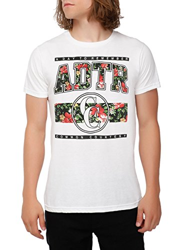A Day To Remember Floral T-Shirt Size : Large
