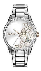Esprit Analog White Dial Women's Watch-ES109082005