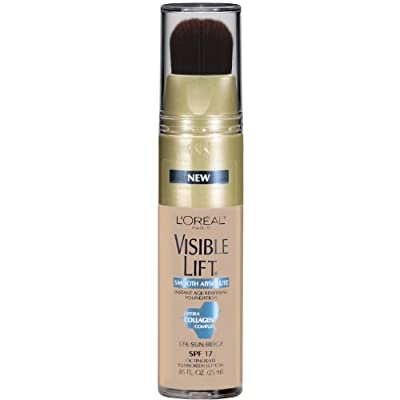 Cheapest L'Oreal Paris Visible Lift Smooth Makeup, Absolute Sun Beige, 0.85 Fluid Ounce by Loreal Cosmetics - Free Shipping Available