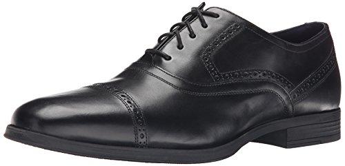 Cole Haan Men's Montgomery Cap Oxford, Black, 9.5 M US (Cole Haan Black Cap Toe compare prices)