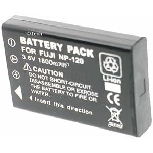 Otech D014SB Batterie pour Appareil Photo Numérique de type Fujifilm NP120 3,7 V