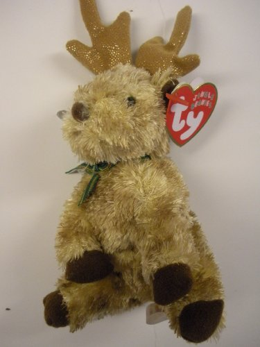 TY Jingle Beanie Baby - RUDY the Reindeer - 1