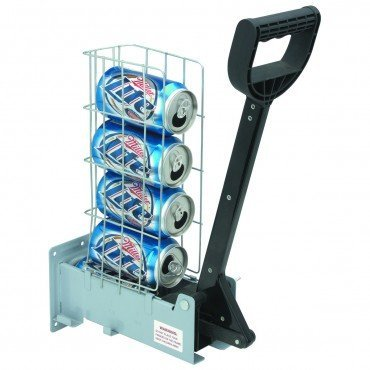 Can Crusher for Recycling 12 oz and 16 oz Aluminum Cans Wall Mounted Fully Assembled (Multi Can Crusher compare prices)