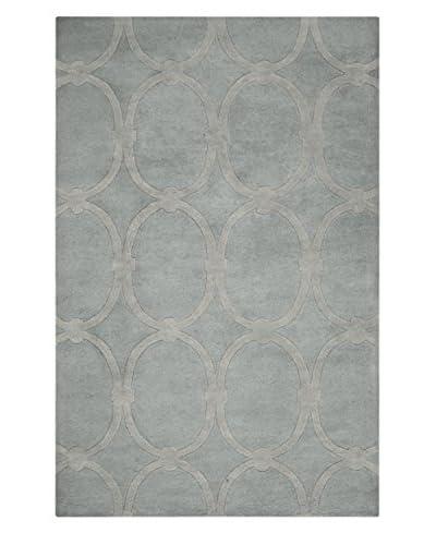Surya Modern Classics Geometric Oval Hand-Tufted Rug