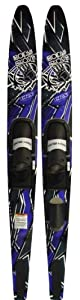 Buy Body Glove Signature CRS Waterskis Combo (Blue Black, 67-Inch) by Body Glove