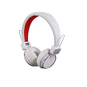 Mobilegear Classy Wired Studio Headphone with Premium Quality Sound for Mobiles & Laptop - White