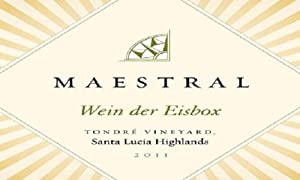Maestral Riesling Ice Wine Santa Lucia Highlands 375 Ml