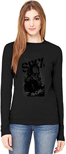 Sixx:A.M. Render Art T-Shirt da Donna a Maniche Lunghe Long-Sleeve T-shirt For Women| 100% Premium Cotton Ultimate Comfort X-Large