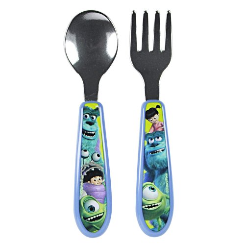 The First Years Monsters Inc Flatware, Boy (Discontinued by Manufacturer)