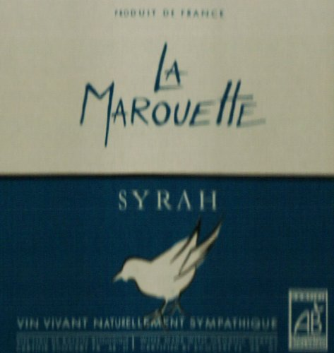2009 La Marouette Syrah 750 Ml