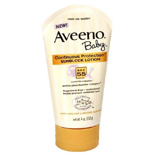 aveeno baby sunblock lotion