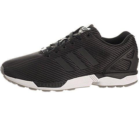 Adidas Originals ZX 8000 Flux Weave Woven B34909 Black/Grey Torsion Men's Shoes (size 8.5) (Zx 8000 Weave compare prices)