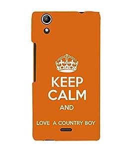 EPICCASE Keep calm case Mobile Back Case Cover For Micromax Selfie 2 Q340 (Designer Case)