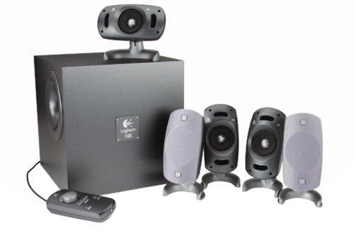 Logitech Z-5300 5 1-Channel Surround Speaker SystemB0000C20UL : image