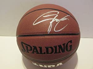 Gilbert Arenas Autographed Signed NBA Spalding I O Basketball, Golden State Warriors,... by Southwestconnection-Memorabilia