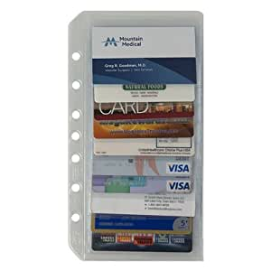 FranklinCovey Classic Business/Credit Card Holder Two-Pack