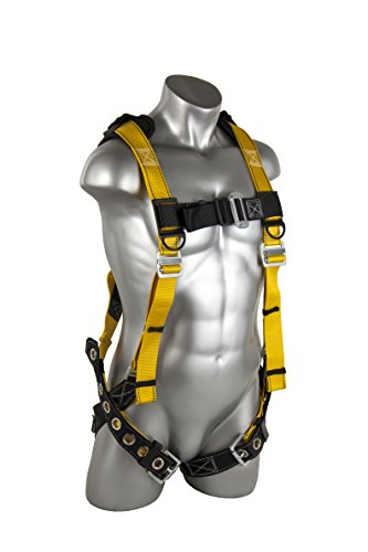 Guardian Fall Protection 11166 XL-XXL Seraph Universal Harness with Leg Tongue Buckle Straps (Fall Harness Xl compare prices)