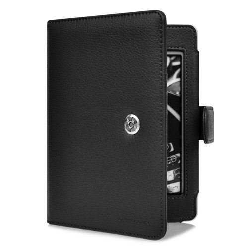 CaseCrown Regal Flip Case (Black) for Amazon Kindle Touch 3G / Wifi