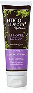 Hugo & Debra Naturals All Over Lotion, French Lavender, 8 fl.Ounce