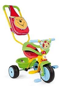 Smoby - 444188 - Vélo et Véhicule pour Enfant - Winnie l'ourson - Tricycle Be Move Confort