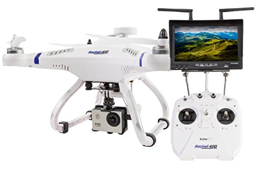 XciteRC-15001510-Ferngesteuerter-RC-Quadrocopter-Rocket-400-FPV-GPS-RTF-Drohne-Mode-1