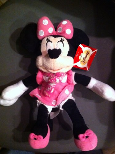 "Disney Minnie Mouse 12"" Plush with Scarf"