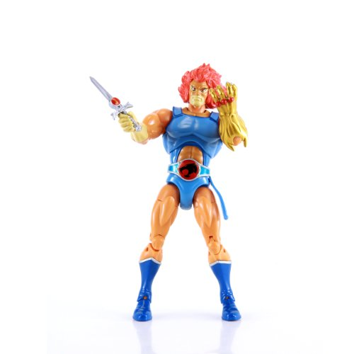 "Amazon.com : ThunderCats Lion-O 8"" Collector Figure Classic : Action Figures"