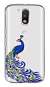 WOW Transparent Printed Back Cover Case For Motorola Moto G4