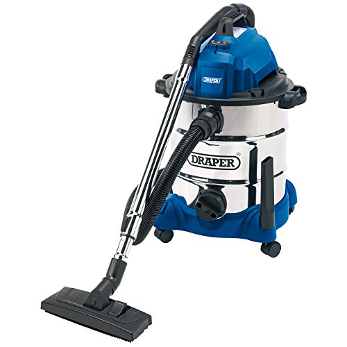 draper-54257-30-litre-1400-w-wet-and-dry-vacuum-cleaner-with-integrated-230-v-power-socket
