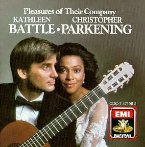 Pleasures of Their Company by Kathleen Battle, Christopher Parkening, John Dowland, Hector Villalobos and Charles Gounod