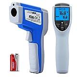 Termómetro digital Etekcity Lasergrip 1022 láser infrarojo, -58 a +1022°F con pantalla y Emisividad ajustable