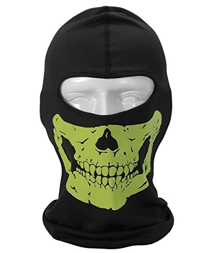[Ghosts Balaclava Skull Full Face Mask for Cosply Party Halloween Outdoor Motorcycle Bike Cycling Skateboard Hiking Skiing Snowmobile Snowboard (Style] (Halloween Costumes 03)