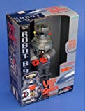 "Classic Lost In Space B9 ROBOT Electronic light, sound, & Motion 10"" Action Figure (1997 Trendmasters)"