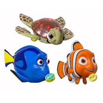 Swimming Mini Fish - Nemo, Squirt, and Dory - 1