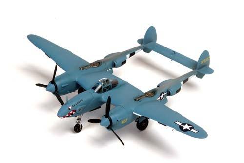 P-38 F4/F5 Twin-Engine Photo-Reconnaissnace 1/48 Minicraft