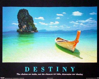 Destiny Motivational Inspirational Poster Print