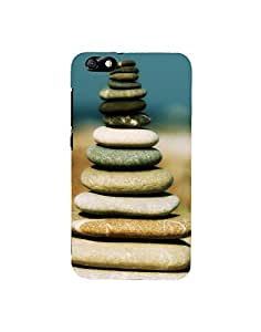 Aart Designer Luxurious Back Covers for Honor4X + Flexible Portable Thumb OK Stand by Aart Store.