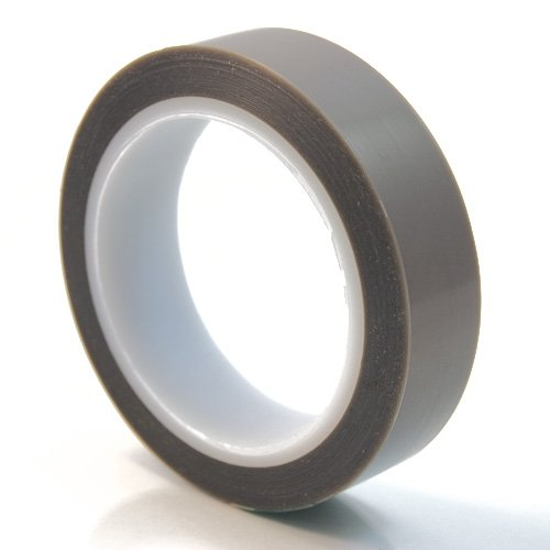 Cs Hyde Conformable Ptfe Tape With Silicone Adhesive, Brown 1 Inch X 36 Yards