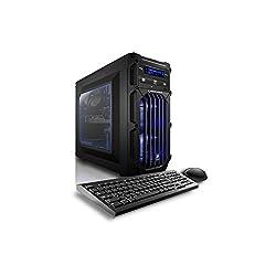 Buy online CybertronPC Flux X99 X4 TGMFLUXX99445BL Desktop Blue