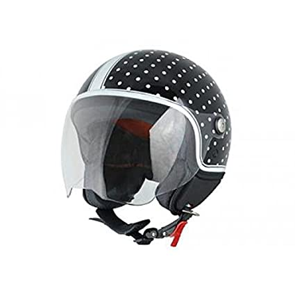 Casque origine mio pois mat noir/blanc xl - Origine OR008096