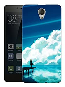 """Humor Gang Calm Scenery Wallpaper Printed Designer Mobile Back Cover For """"Xiaomi Redmi Note 2"""" (3D, Matte, Premium Quality Snap On Case)"""