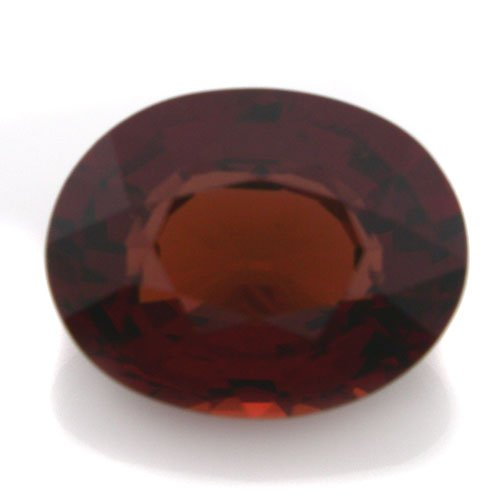 Natural Africa Red Garnet Loose Gemstone Oval Cut 9*7mm 2.55cts